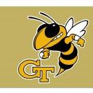 NCAA Georgia Tech Yellow Jackets polyester Flag banner 3ft*5ft