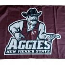 NCAA New Mexico State Aggies polyester Flag banner 3ft*5ft