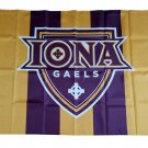 NCAA Iona Gaels Team polyester Flag banner 3ft*5ft