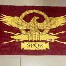 Flag of SPQR Flag banner 3ft*5ft
