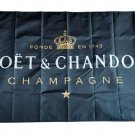 Flag of Moet Chandon Black Background Flag banner 3ft*5ft