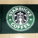 Flag of Starbucks Coffee Flag banner 3ft*5ft