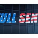 Black Background USA Full Send Flag banner 3ft*5ft