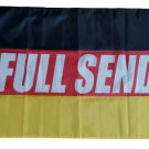 Full Send Germany Flag banner 3ft*5ft