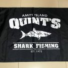 Amity Island Quint's Shark Fishing Flag banner 3ft*5ft