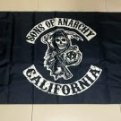 Sons of Anarchy California Flag banner 3ft*5ft