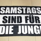 Germany Saturdays are for the Boys Flag banner 3ft*5ft