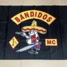 Bandidos mc Flag banner 3ft*5ft