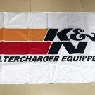 K&N Filtercharger Equipped Flag banner 3ft*5ft