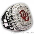 2015 Oklahoma Sooners Big 12 Championship Ring