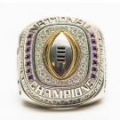 LSU 2019 2020 Geaux Tigers National Orgeron College Football Playoff SEC Championship Ring
