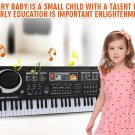 Early Education Music Electronic Keyboard With Mikephone Kid Piano Organ Record Playback