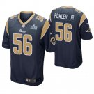 Men's Los Angeles Rams Dante Fowler Jr. Navy Super Bowl LIII Jersey