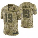 Men's Adam Thielen Minnesota Vikings #19  Camo Salute to Service Jersey