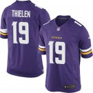 Men's Adam Thielen Minnesota Vikings purple game Home Jersey