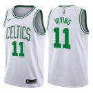 Men's Boston Celtics #11 Kyrie Irving Association White Jersey