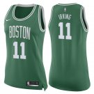 Women's Boston Celtics #11 Kyrie Irving Green Swingman Jersey