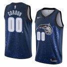Men's Aaron Gordon #00 Orlando Magic - City Edition Blue Basketball Jersey