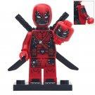 Minifigure Deadpool Venom Marvel Super Heroes Compatible Lego Building Block Toys