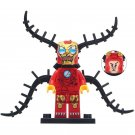 Minifigure Iron Man Venom Marvel Super Heroes Compatible Lego Building Block Toys
