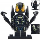 Minifigure Yellowjacket Marvel Super Heroes Compatible Lego Building Block Toys