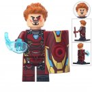 Minifigure Iron Man with Shield Marvel Super Heroes Compatible Lego Building Block Toys