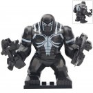 Minifigure Agent Venom Marvel Super Heroes Compatible Lego Building Block Toys