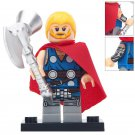 Minifigure Unworthy Thor Marvel Super Heroes Compatible Lego Building Block Toys