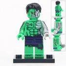 Minifigure Hulk Marvel Super Heroes Compatible Lego Building Block Toys