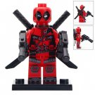 Minifigure Deadpool Marvel Super Heroes Compatible Lego Building Block Toys