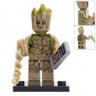 Minifigure Groot Deadpool Marvel Super Heroes Compatible Lego Building Block Toys