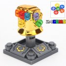 Minifigure Ghrome Infinity Gauntlet Marvel Super Heroes Compatible Lego Building Block Toys