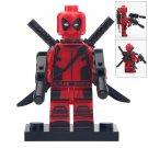Minifigure Deadpool 2 Guns Marvel Super Heroes Compatible Lego Building Block Toys
