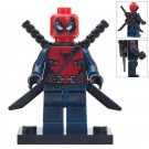 Minifigure Spider-man Deadpool Marvel Super Heroes Compatible Lego Building Block Toys