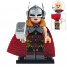 Minifigure Lady Thor Marvel Super Heroes Compatible Lego Building Block Toys