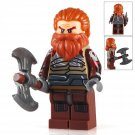 Minifigure Volstagg Thor`s Command Marvel Super Heroes Compatible Lego Building Block Toys