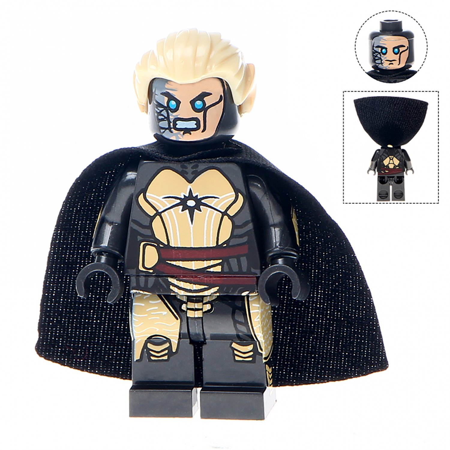 Minifigure Malekith Marvel Super Heroes Compatible Lego Building Block Toys