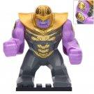 Big Minifigure Thanos Marvel Super Heroes Compatible Lego Building Block Toys