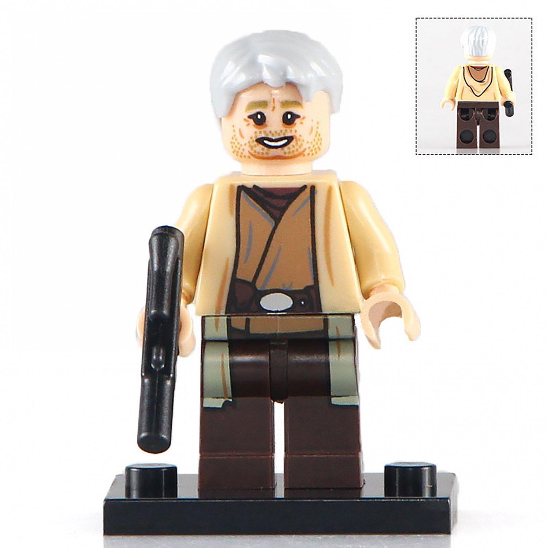 Minifigure Owen Lars Star Wars Compatible Lego Building Block Toys