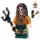 Minifigure Aquaman from Justice League DC Comics Super Heroes Compatible Lego Building Block Toys