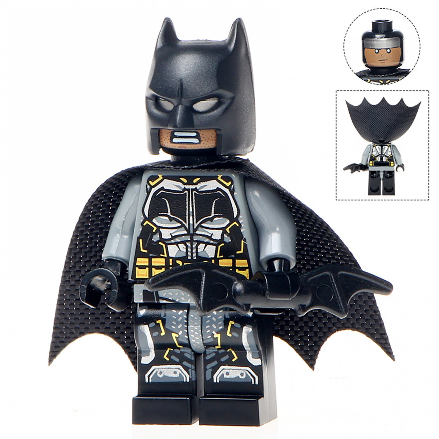 Minifigure Batman from Justice League DC Comics Super Heroes Compatible Lego Building Block Toys
