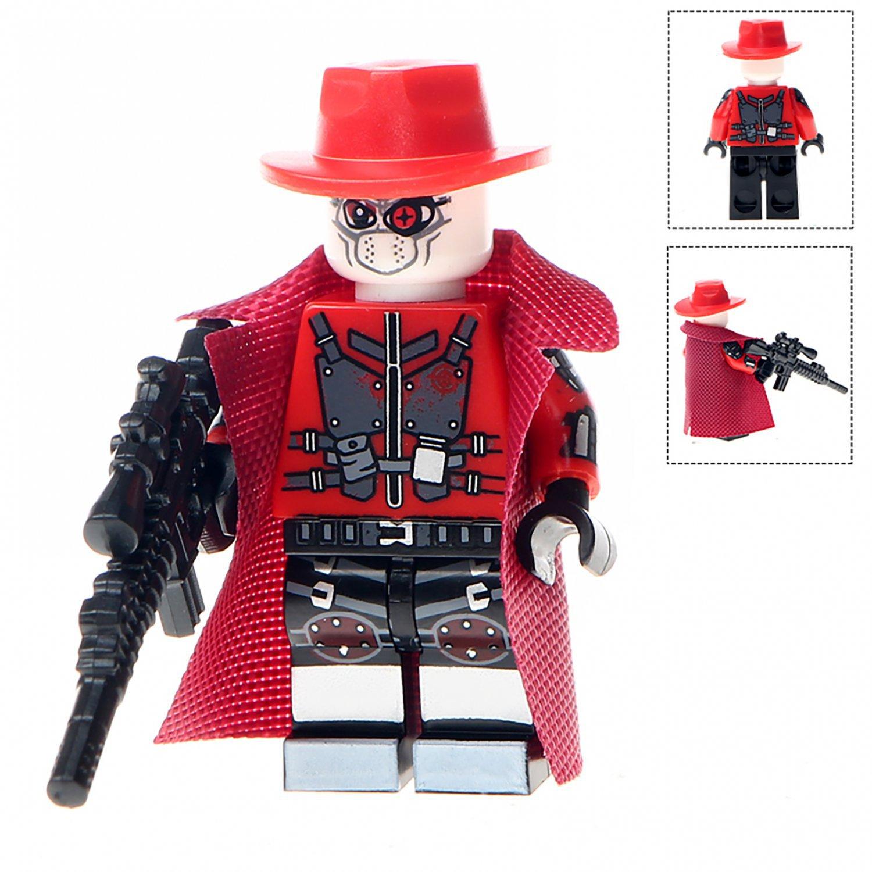Minifigure Deadshot from Suicide Squad DC Comics Super Heroes Compatible Lego Building Block Toys
