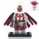 Minifigure Azrael Jean-Paul Valley DC Comics Super Heroes Compatible Lego Building Block Toys