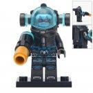 Minifigure Mister Freeze DC Comics Super Heroes Compatible Lego Building Blocks Toys
