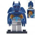 Minifigure Batman with Blue Wings DC Comics Super Heroes Compatible Lego Building Blocks Toys