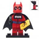Minifigure Red Batman DC Comics Super Heroes Compatible Lego Building Blocks Toys