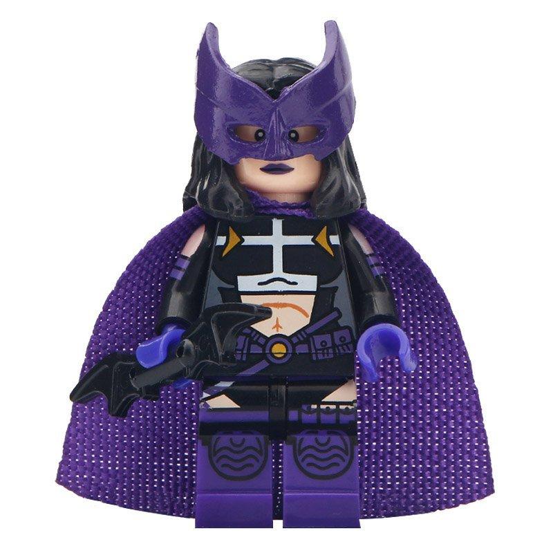 Minifigure Huntress from Batman Movie DC Comics Super Heroes Compatible Lego Building Blocks Toys