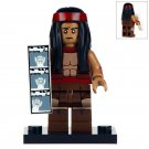 Minifigure Apache Chief DC Comics Super Heroes Compatible Lego Building Blocks Toys