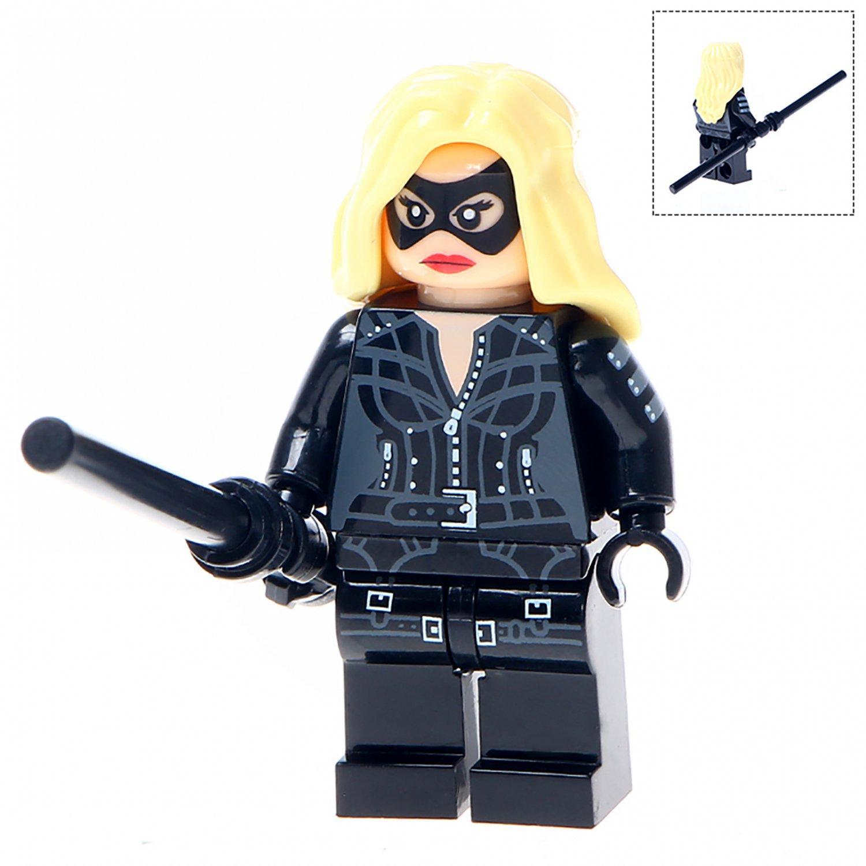 Minifigure Black Canary DC Comics Super Heroes Compatible Lego Building Blocks Toys