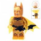 Minifigure Gold Batman Dark Knight DC Comics Super Heroes Compatible Lego Building Blocks Toys